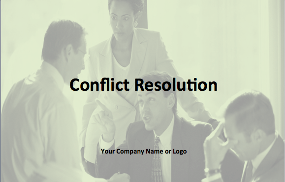 Delivery of Conflict Resolution at your Location