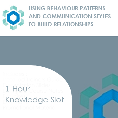Using Behaviour Patterns to Build Relationships