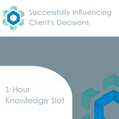 Successfully Influencing Your Client's Decisions