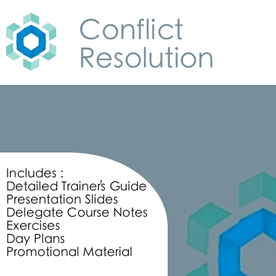 free conflict resolution training materials